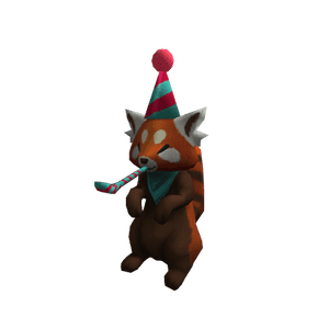Red Panda Party Pet